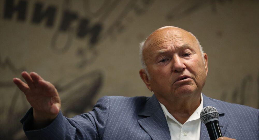 Ex sindaco di Mosca Yuri Luzhkov