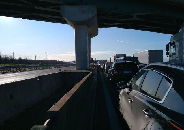 Nuovo incidente con fiamme sull'Autostrada A4