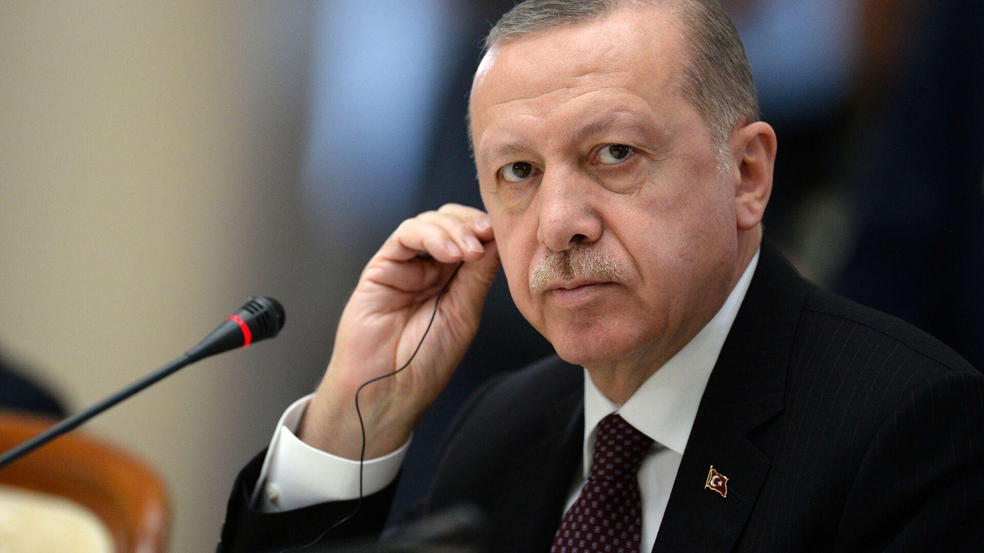 Il presidente turco Recep Tayyip Erdogan - Sputnik Italia, 1920, 26.07.2021