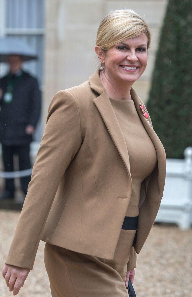 Kolinda Grabar-Kitarovic è una politica croata, prima Presidente donna della Croazia e la più giovane nella storia del Paese