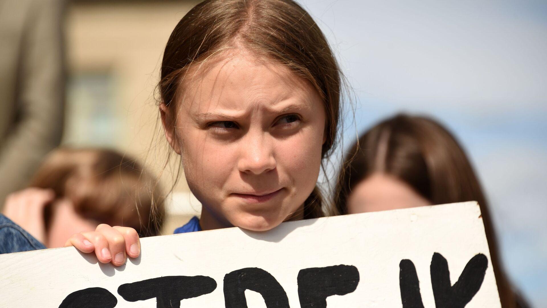 Greta Thunberg - Sputnik Italia, 1920, 03.06.2021