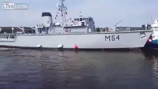 Lithuanian Navy Fail - Sputnik Italia