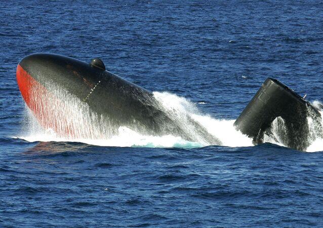 il sottomarino giapponese Yukishio