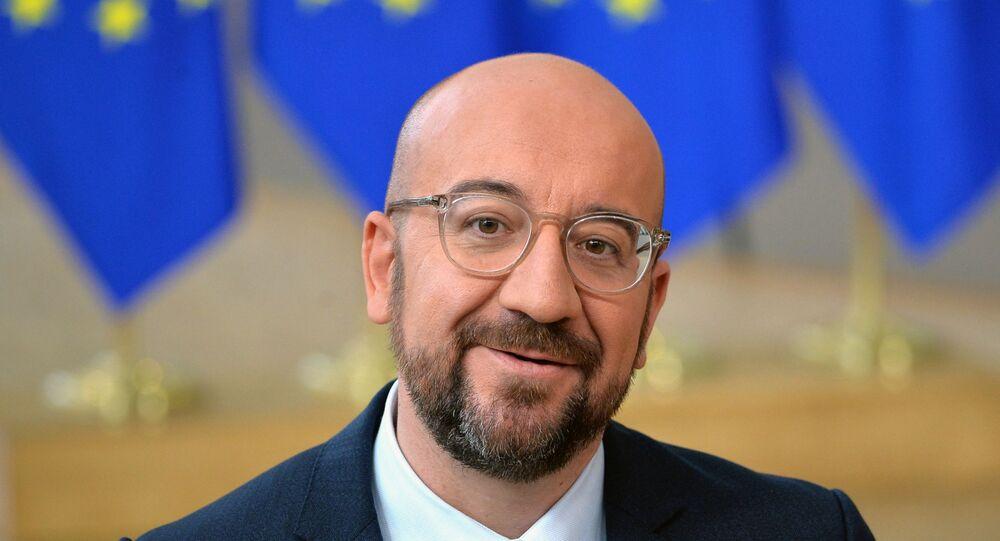 Primo ministro del Belgio Charles Michel