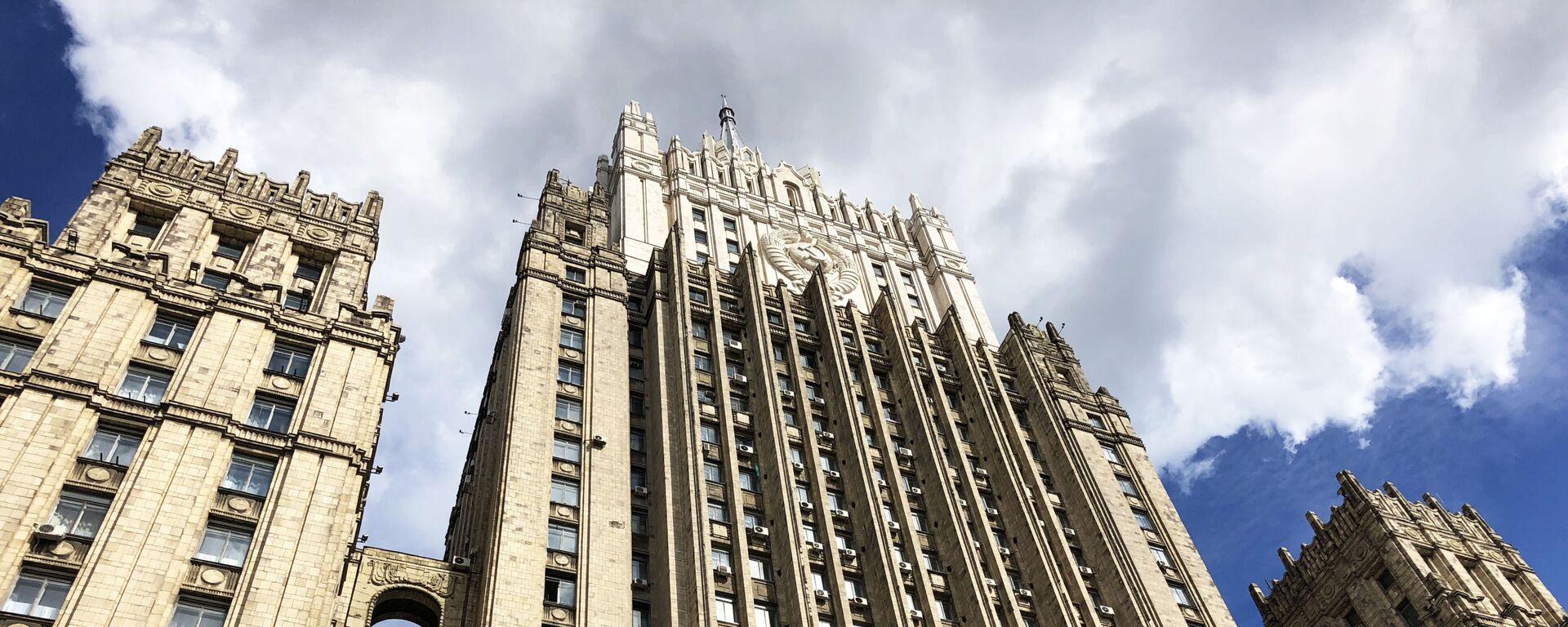 Il ministero degli Affari esteri della Federazione Russa - Sputnik Italia, 1920, 24.06.2021