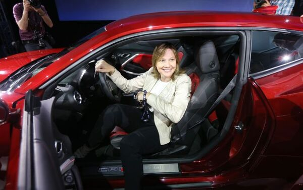 Mary Barra, l'amministratore delegato di General Motors - Sputnik Italia