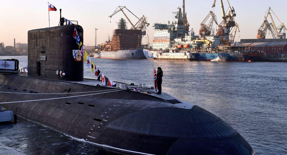 Sottomarino B-274 Petropavlovsk-Kamchatsky