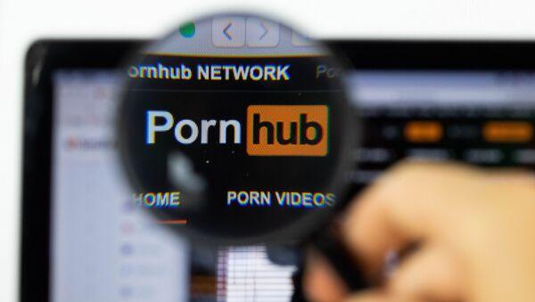 Il logo Pornhub - Sputnik Italia