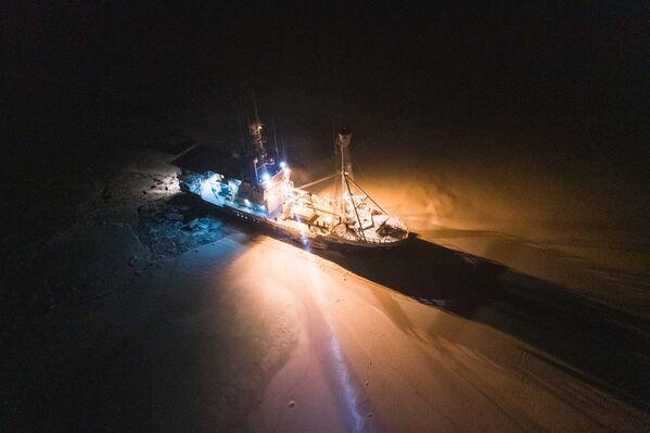La rompighiaccio Lance nelle acque norvegesi del Mar Glaciale Artico - Sputnik Italia