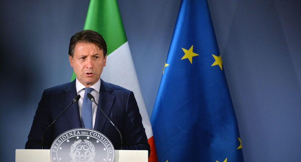 Giuseppe Conte (foto d'archivio)