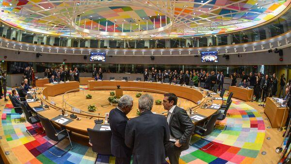 La sala dell'Eurosummit - Sputnik Italia
