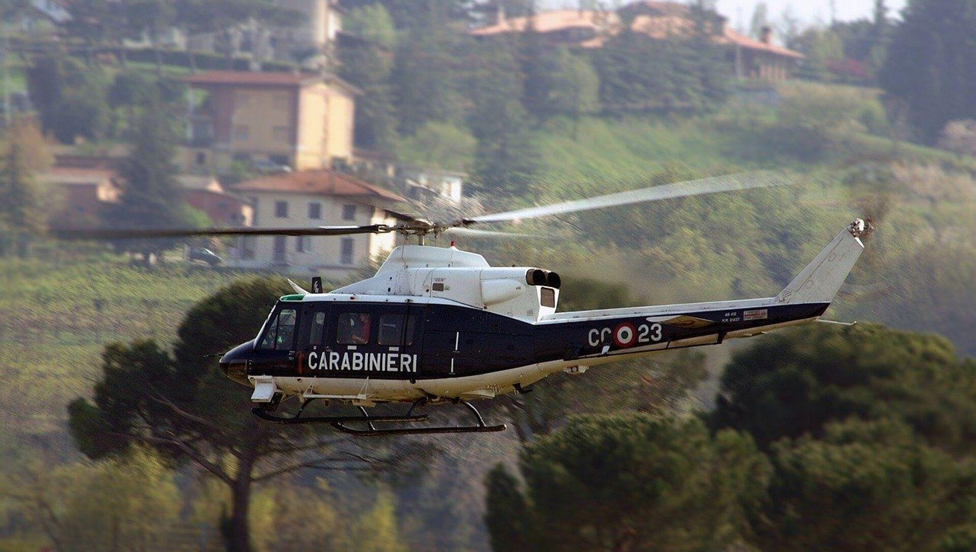 Elicottero Carabinieri - Sputnik Italia, 1920, 02.03.2021