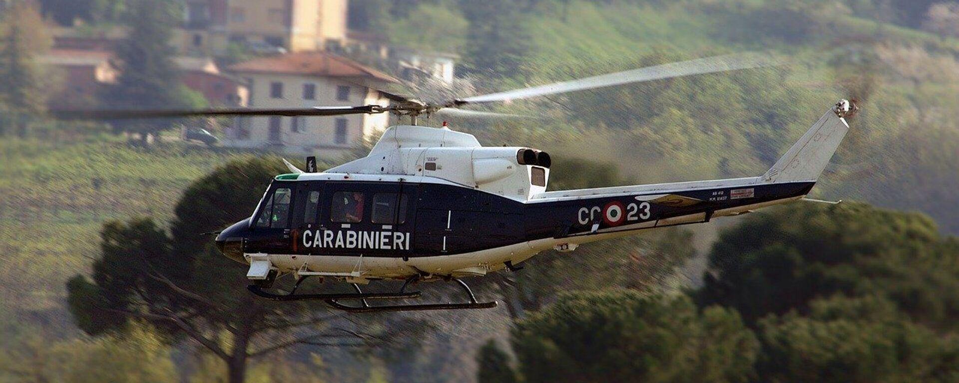 Elicottero Carabinieri - Sputnik Italia, 1920, 23.06.2021