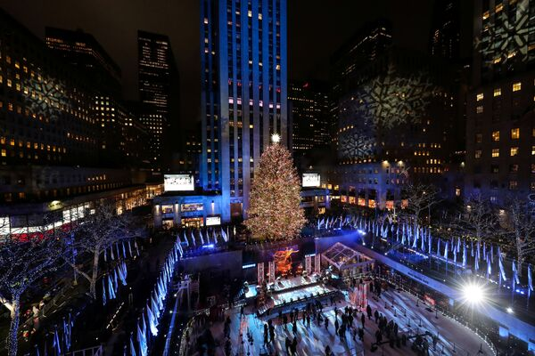 Un'abete di Natale a New York. - Sputnik Italia