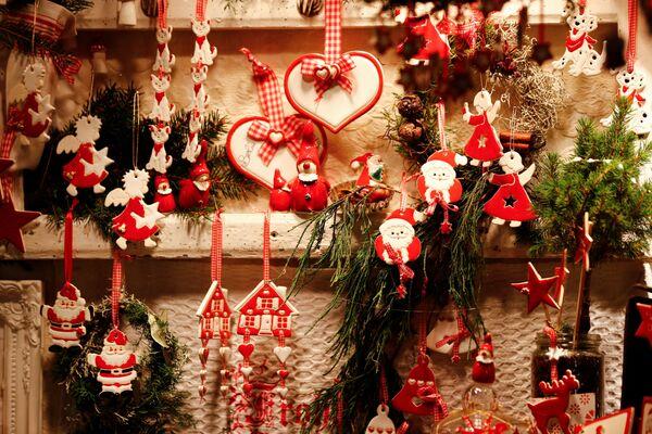 Un mercantino di Natale a Berlino. - Sputnik Italia