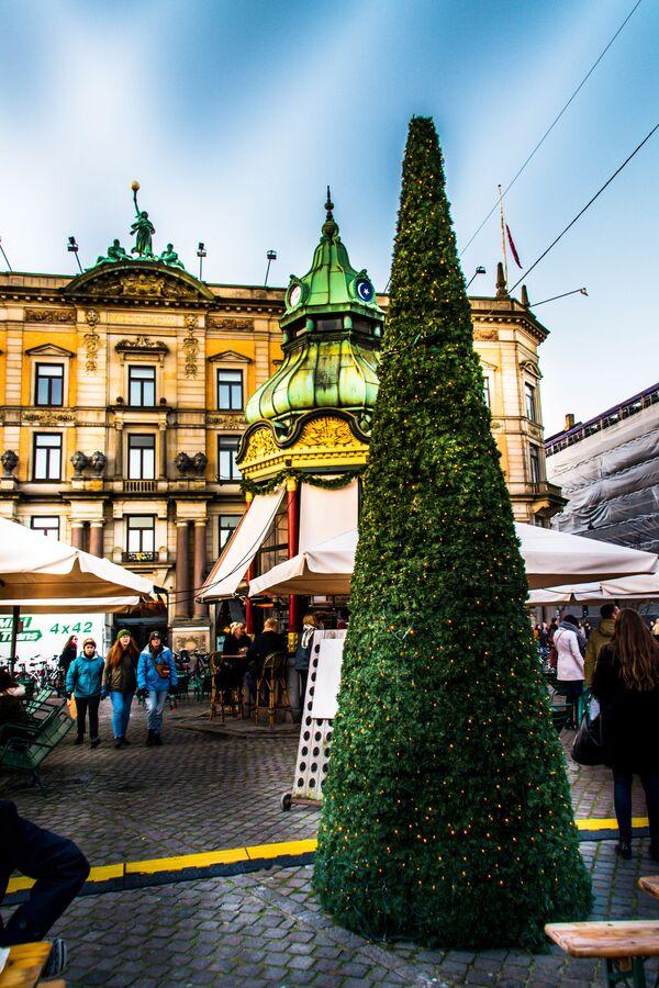 Un mercantino di Natale a Kopenhagen. - Sputnik Italia