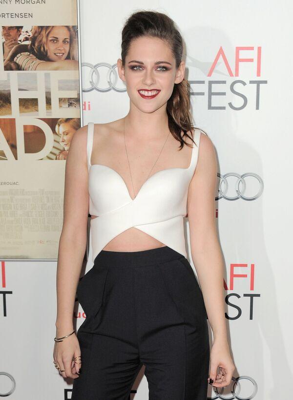 L'attrice Kristen Stewart al gala del film On the Road, 2012. - Sputnik Italia