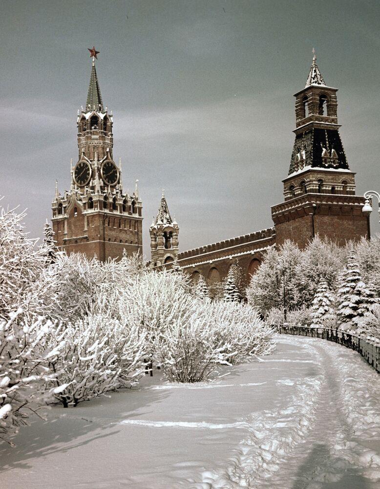 Il Cremlino d'inverno