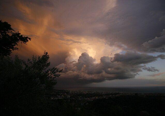 Maltempo sull'Italia e allerta meteo
