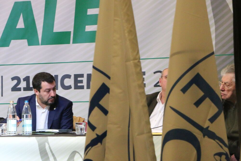 Matteo Salvini al Congresso Federale della Lega