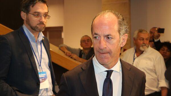 Luca Zaia al Congresso Federale della Lega - Sputnik Italia