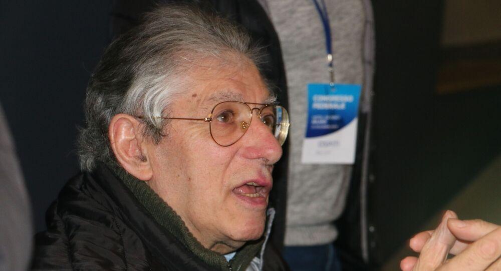 Umberto Bossi al Congresso Federale della Lega
