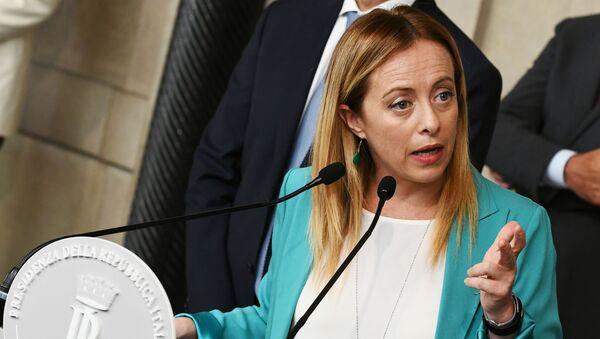 Giorgia Meloni - Sputnik Italia