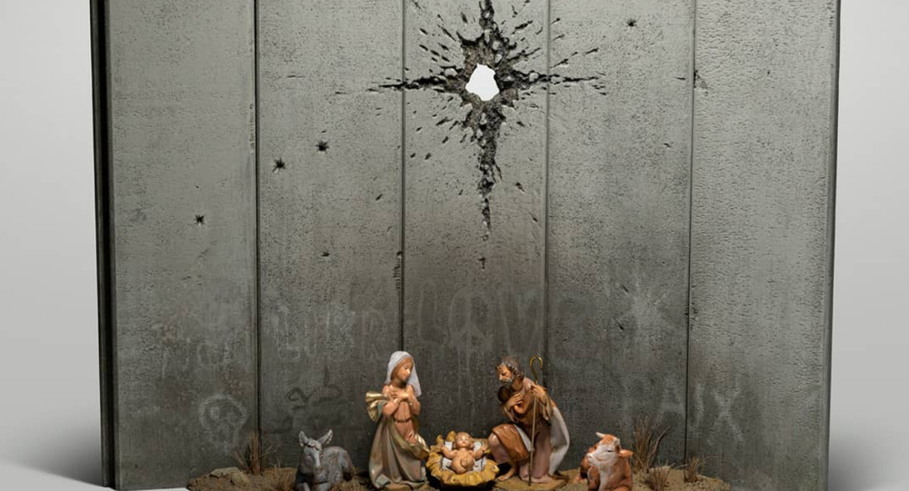 Il presepe di Banksy