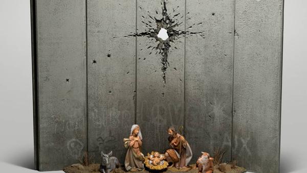 Il presepe di Banksy - Sputnik Italia