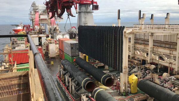 Lavori di costruzione del gasdotto Nord Stream 2 - Sputnik Italia