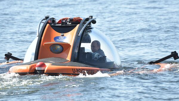 Putin nel Golfo di Finlandia - Sputnik Italia