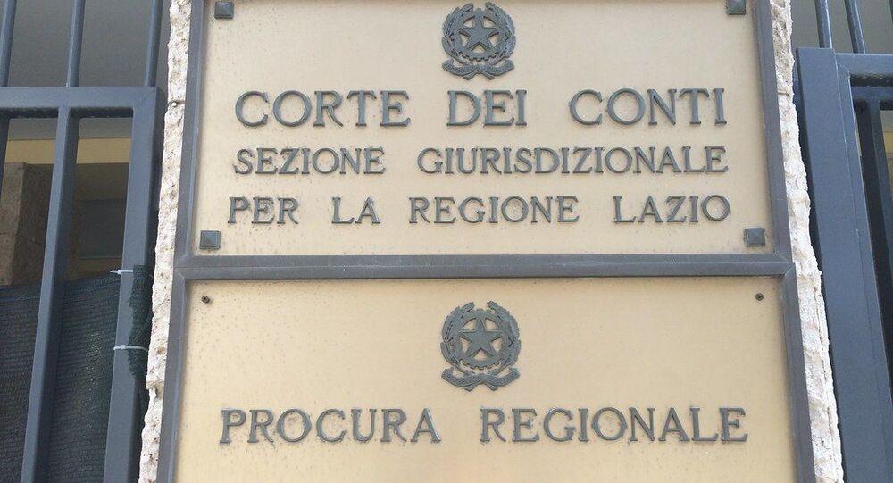 Corte dei Conti Roma e regione Lazio