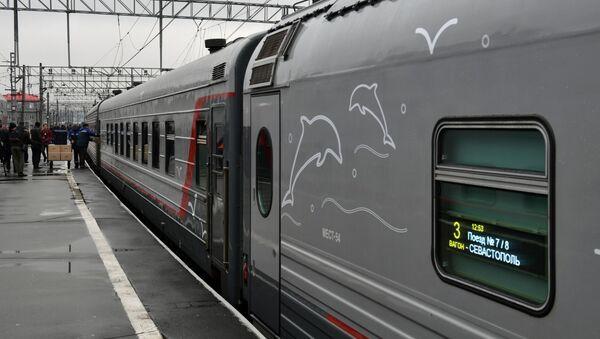 Treno Tavria - Sputnik Italia