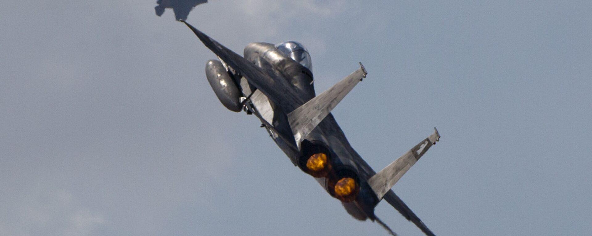 F-15 israele, esercito israele - Sputnik Italia, 1920, 20.07.2021