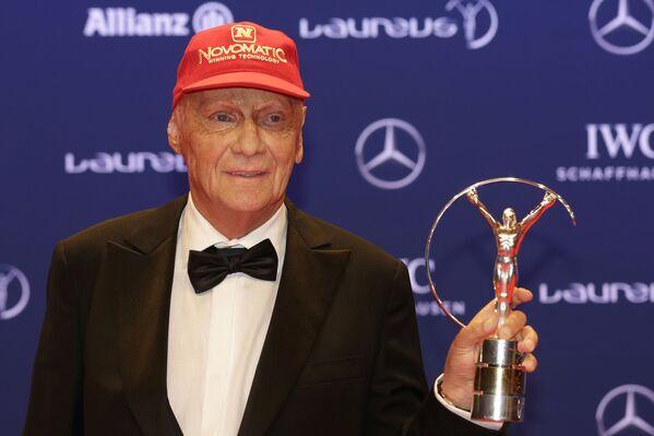 Niki Lauda, pilota automobilistico, imprenditore e dirigente sportivo austriaco, tre volte campione del mondo di Formula 1, è morto il 20 maggio 2019  - Sputnik Italia