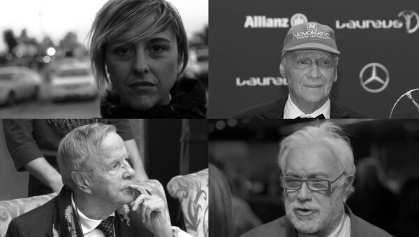 Nadia Toffa, Niki Lauda, Franco Zeffirelli, Luciano De Crescenzo - Sputnik Italia