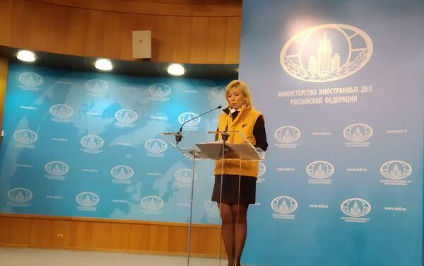 Maria Zakharova sostiene Sputnik Estonia - Sputnik Italia