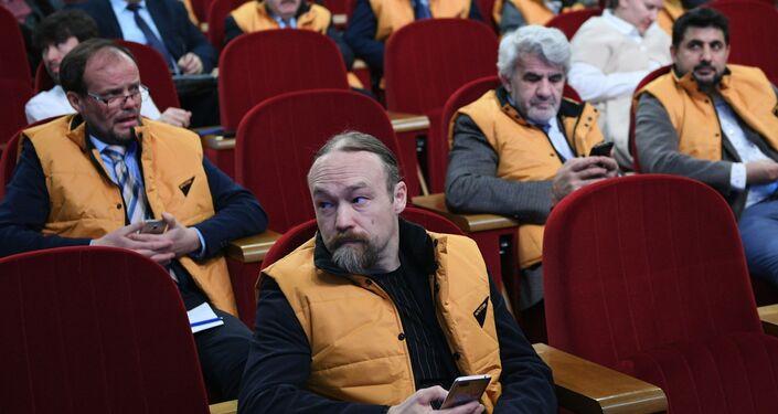 Сonferenza stampa settimanale di Maria Zakharova a sostegno di Sputnik Estonia