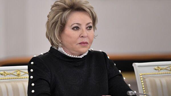 Valentina Matvienko - Sputnik Italia