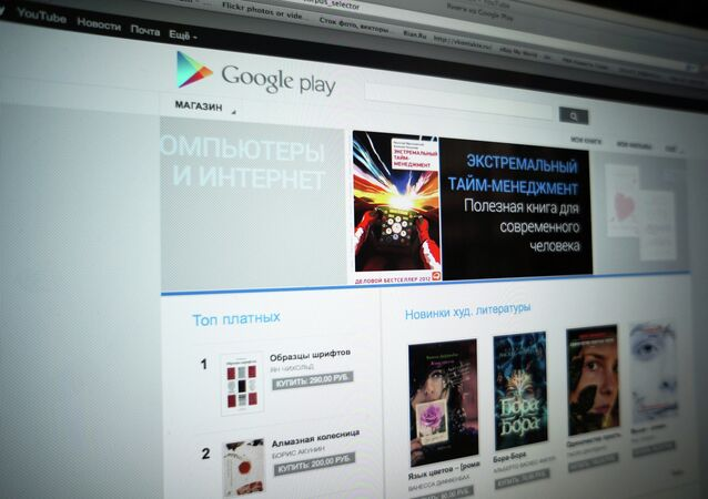 Google Play online store, Russian version