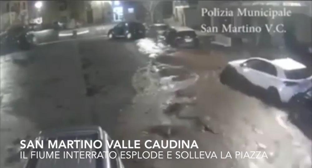 Esondazione fiume interrato San Martino Valle Caudina