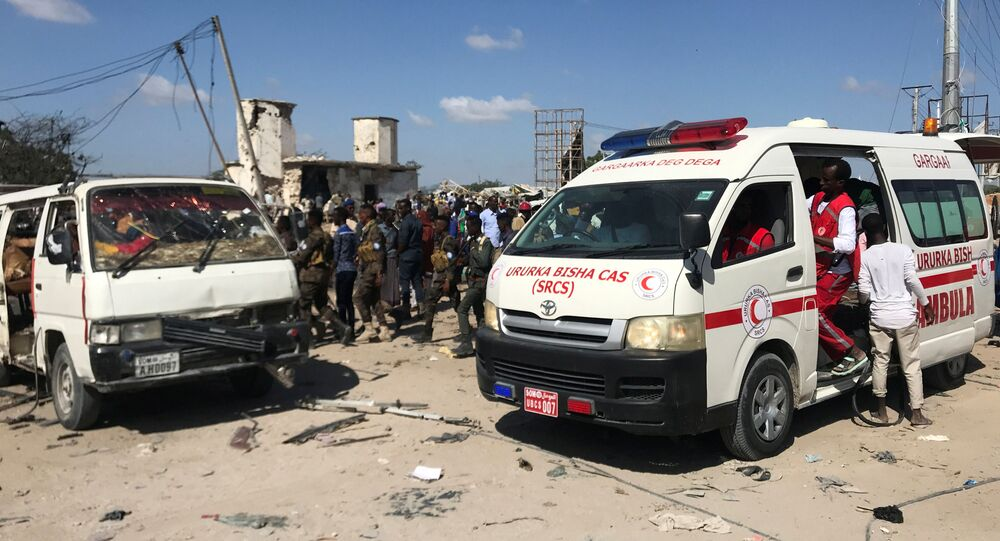 Ambulanze a Mogadiscio