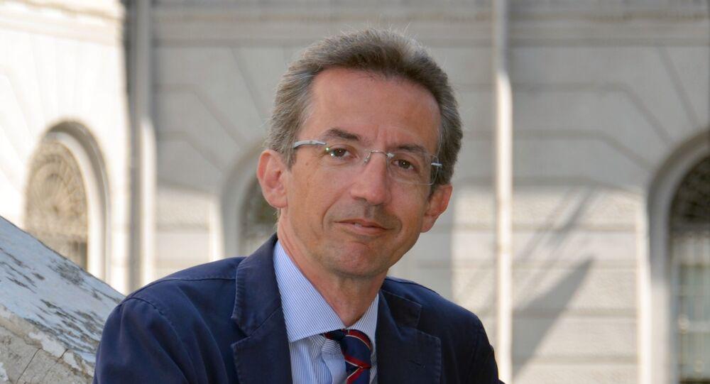 Ministro dell'Università e e della Ricerca Gaetano Manfredi