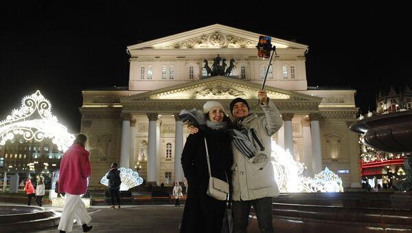 Turisti nel centro di Mosca - Sputnik Italia