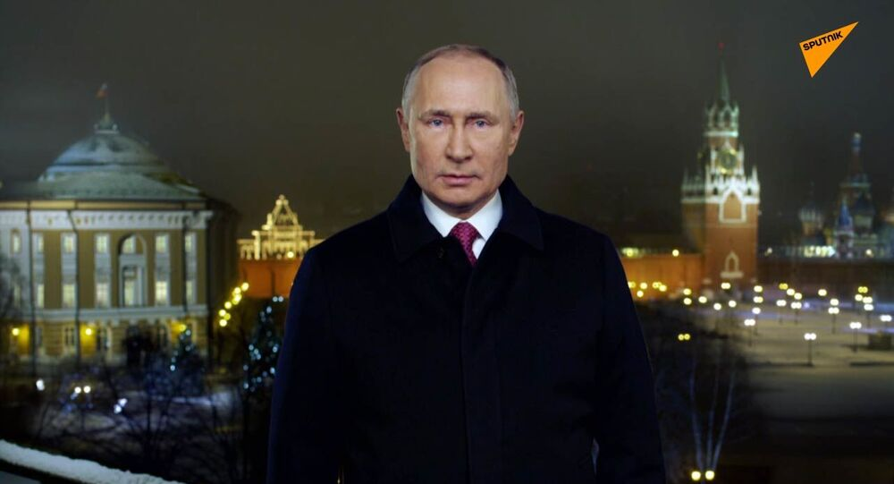 Il discorso di fine anno del presidente russo Putin - Video