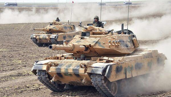 Carri armati delle forze armate turche - Sputnik Italia