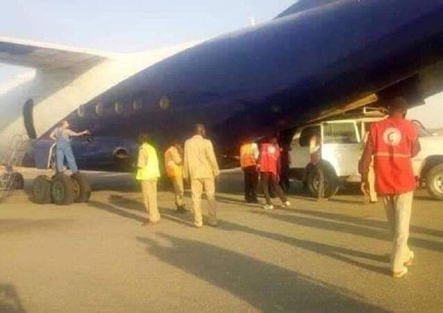 Un aereo cargo militare si è schiantato dopo il decollo nel Darfur occidentale, Sudan.
