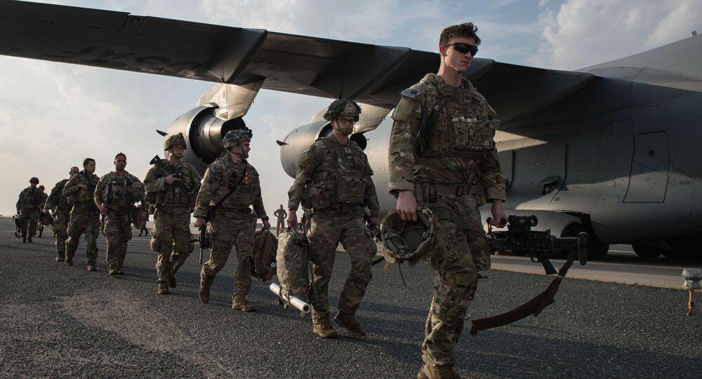 Soldati americani alla base in Kuwait, gennaio 2 del 2020