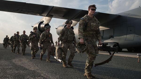 Soldati americani alla base in Kuwait, gennaio 2 del 2020 - Sputnik Italia
