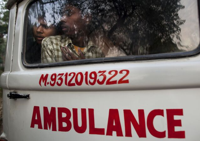 Ambulanza in India